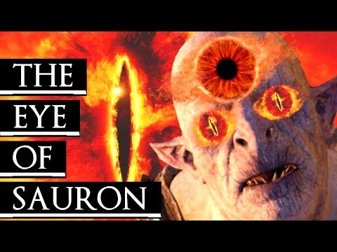 Shadow of War: Middle Earth™ Unique Orc Encounter & Quotes #296 THE EYE OF SAURON URUK (EXT. VER) |