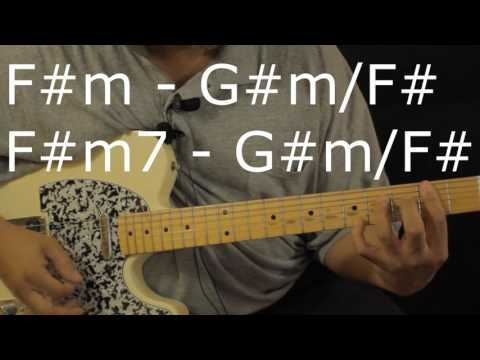 How to play Michael Jackson - Billie Jean - on Guitar