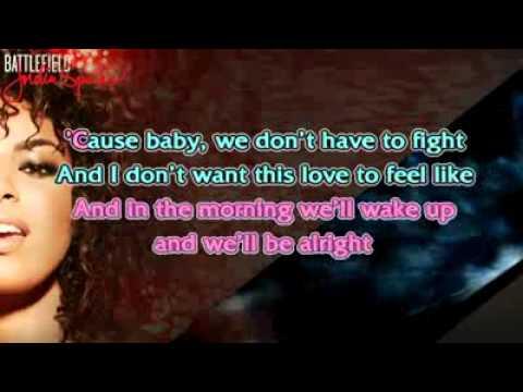 Battlefield en Karaoke (Instrumental)Jordin Sparks