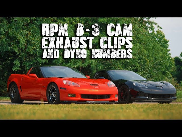 RPM LS7 B-3 Cam | Exhaust Clips & Dyno Numbers