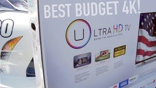 "Best Budget 4K TV? 50"" Smart 4K for $599! (Hisense H7)"