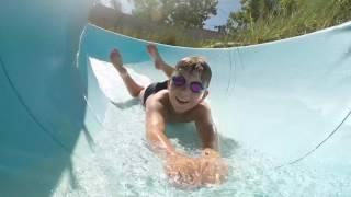 Water slides at La Palace Campsite [Soulac-sur-Mer]