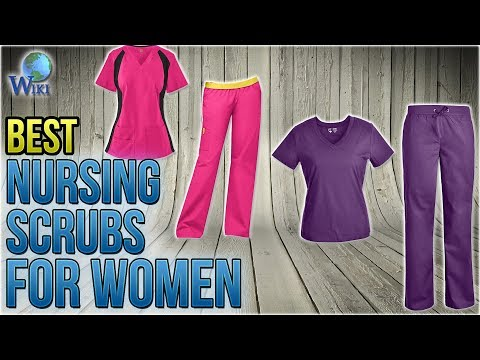 4d7c5161268 10 Best Nursing Scrubs for Women 2018 - YouTube