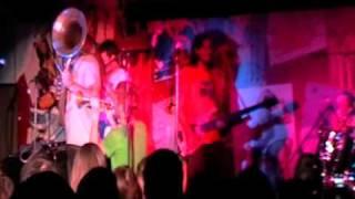 "La Brass Banda in ""Che Guevara"" Club, Krasnoyarsk, Siberia, Russia, March 18, 2009"