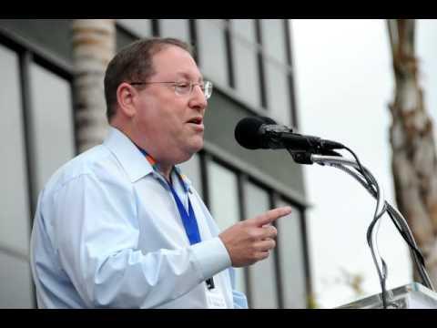 Paul Koretz speaking rock for equality