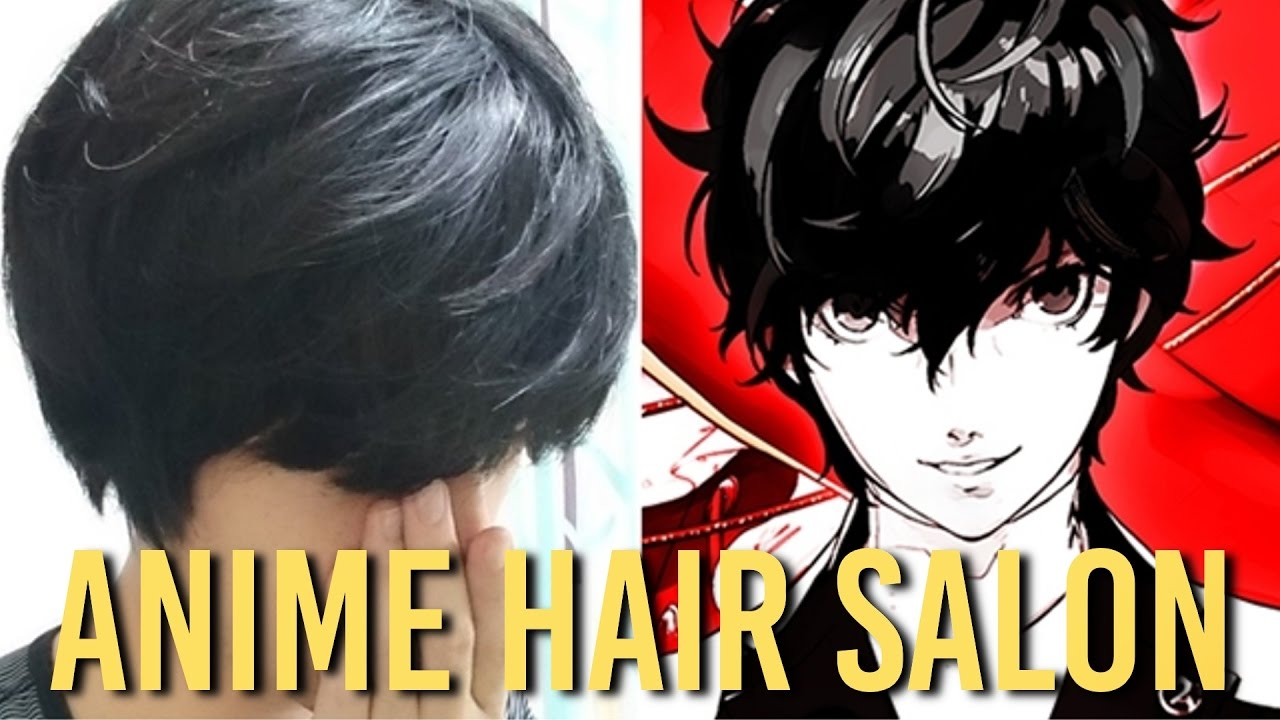 Get An Anime Haircut At This Place!!
