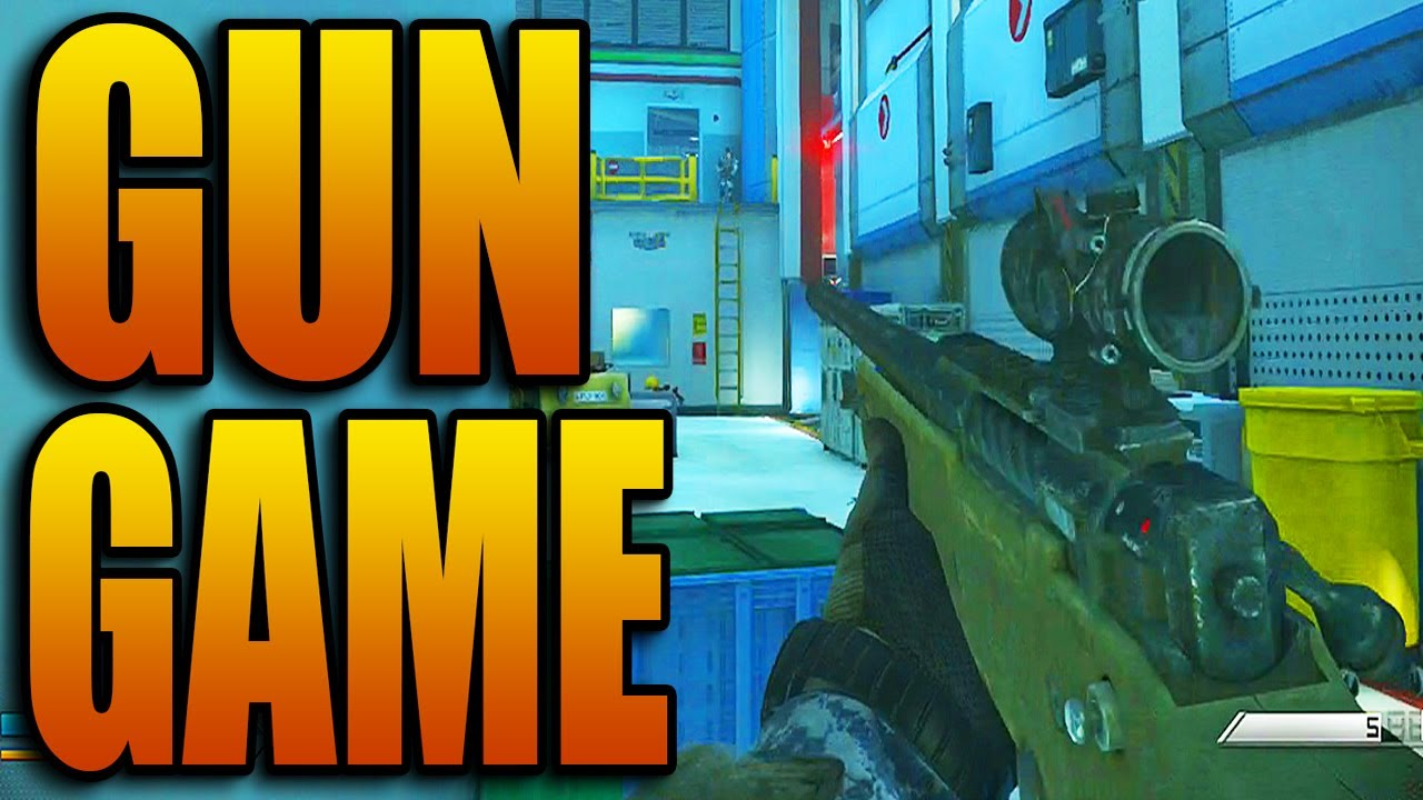 Call Of Duty Ghosts Gun Game Live New Mode Gameplay