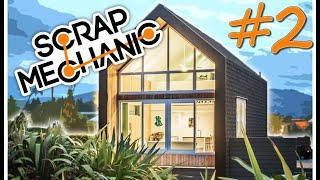Survival Tiny Modern House Concept Let's Build 2 Scrap Mechanic Fr