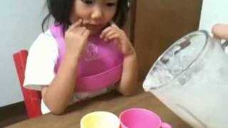 イチゴバナナヨーグルトミルクシェイク