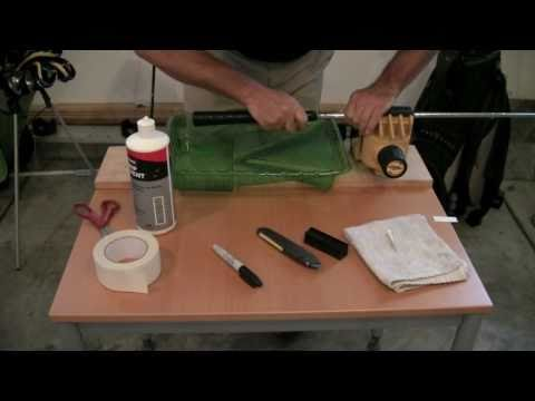 How To Install A JumboMax® Golf Grip