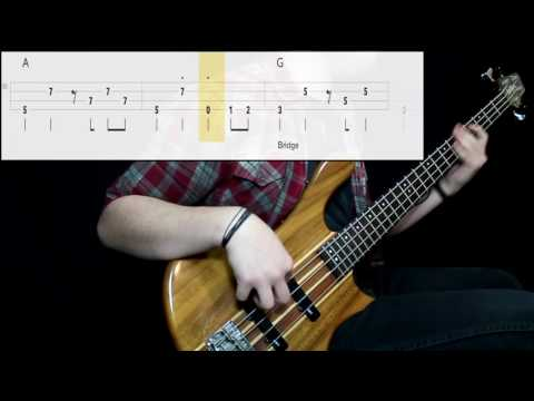 Eddie Money - Two Tickets To Paradise (Bass Cover) (Play Along Tabs In Video)