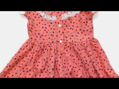 d2563db68 Baby Dress Designs Summer Dress Winter Frock Kids Children Pictures clip4 -  YouTube
