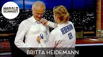 Britta Heidemann bringt Harald Schmidt das Fechten bei | Die Harald Schmidt Show (SKY)