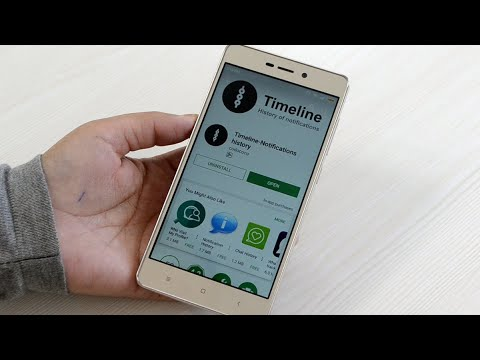 Recover deleted notification on android (HINDI)