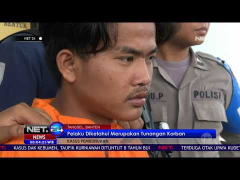 Polisi Tangkap Pelaku Pembunuhan Wanita Yang Terikat Rafia - NET 24