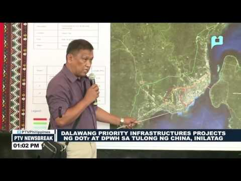 NEWS BREAK: 2 priority projects ng DOTr, DPWH kasama ang China, inilatas