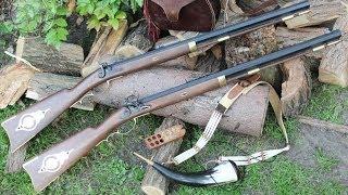 The Pedersoli Traditional Hawken rifle test cмотреть видео онлайн бесплатно в высоком качестве - HDVIDEO