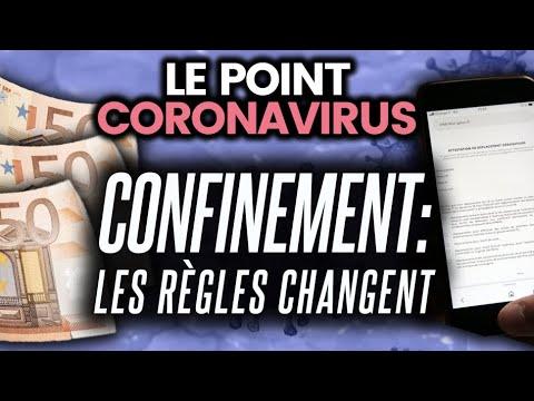 Changement de règles de confinement, brevet de 2004, triste record en Italie... Le point coronavirus