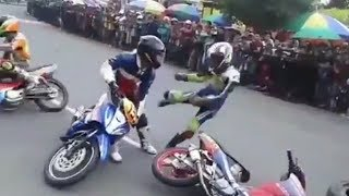 ~ NGERI..!! ROADRACE Berantem ~ LUCU kurang sportifitas [ Roadrace Indonesia ]
