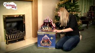 Mr Christmas Gold Label World's Fair Circus Big Top Video
