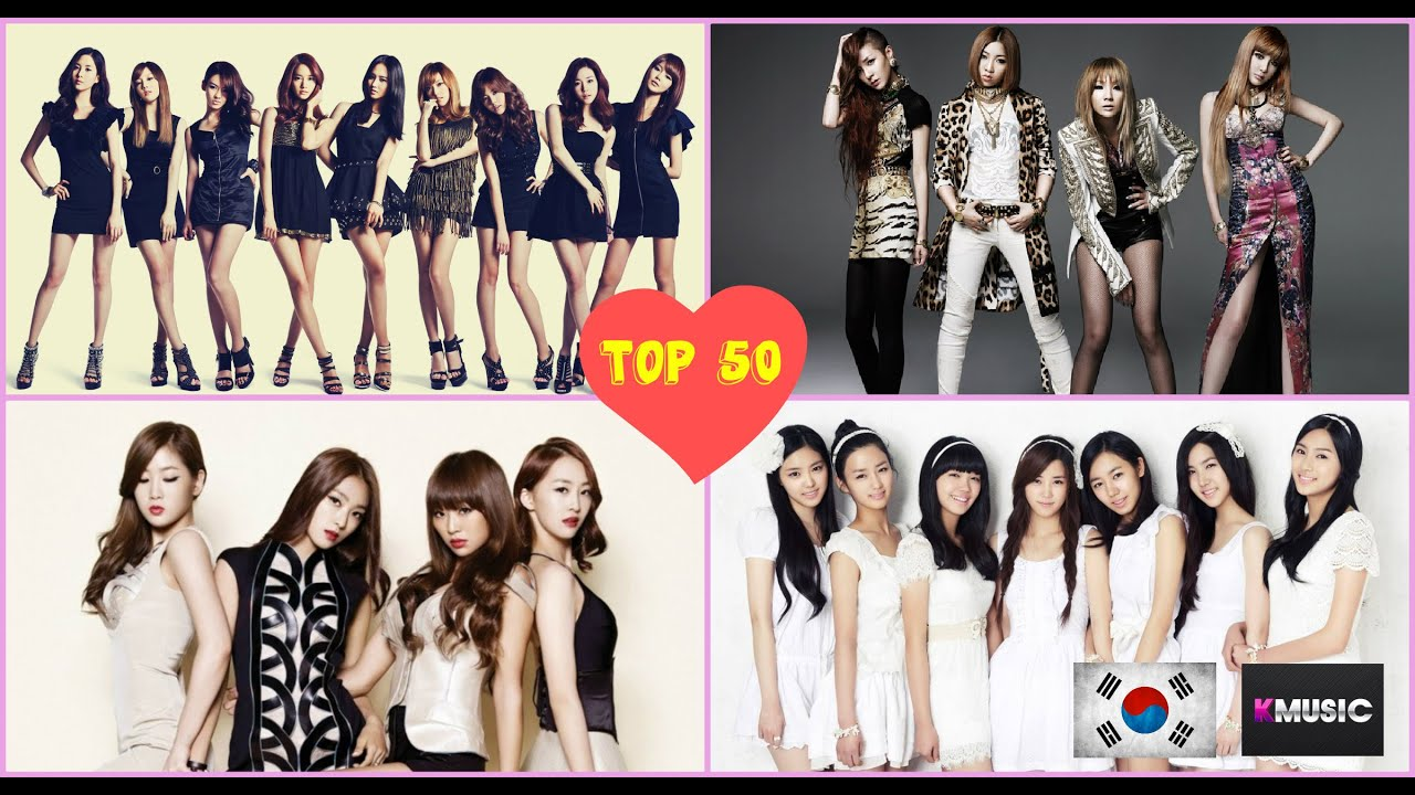 Kpop Group: TOP 50 K-POP GIRL GROUPS OF 2015