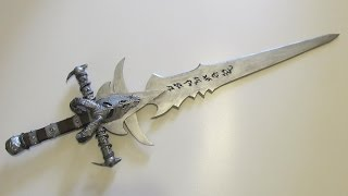 Make Frostmourne from World of Warcraft