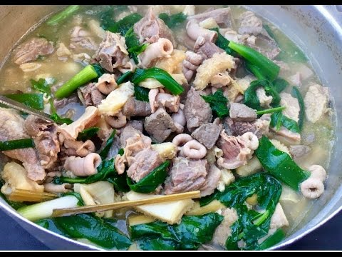 How to make tom kueng nai my style ຕົ້ມເຄື່ອງໄນງົວ( LAO FOOD ) HOME MADE BY kAYSONE