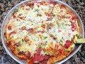 طريقة عمل البيتزا البيتزا بطريقة سهله وسريعه من مطبخ هبة فيديو من يوتيوب
