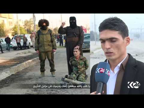 Kurdistan24 finds Hujam Surchi's beheading place, takes family to Mosul