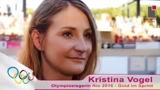 Kristina Vogel - Olympiasiegerin in Rio 2016 - im Interview zum 50. Steherrennen Goldenes Rad