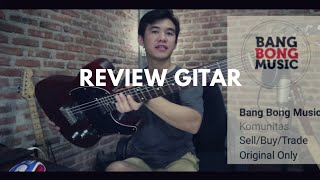 Review Gitar squier telecaster walnut stain ( BANGBONG MUSIC )