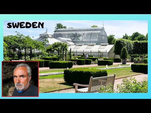 SWEDEN: Beautiful tropical plants, The PALM HOUSE, BOTANICAL GARDENS in GOTHENBURG