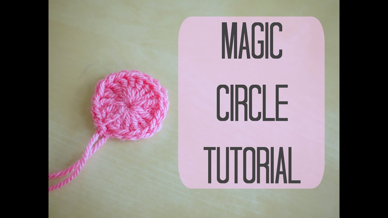 Crochet Magic Circle Tutorial : CROCHET: How to crochet a Magic circle Bella Coco - YouTube