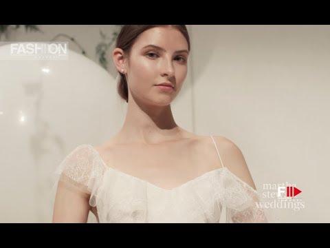 MONIQUE LHUILLIER New York Bridal Fashion Week Fall 2018 - Fashion Channel