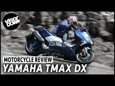 Yamaha TMAX DX first ride review | Visordown Motorcycle Reviews