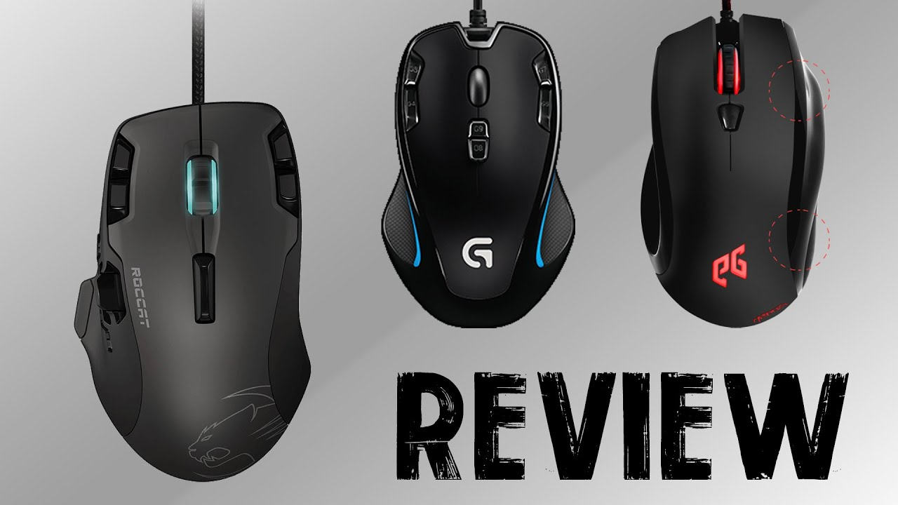 7f4270648f3 Gaming Mice: Roccat Tyon, Logitech G300s, EpicGear Meduza [Review ...