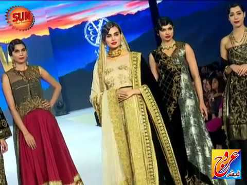 KARACHI: Fashion Pakistan Week Winter Festive 2017.Day 01