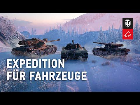 Expedition: Der große Fahrzeugmarsch [World of Tanks]