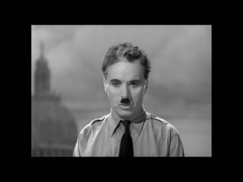 Charlie Chaplin : The Final Speech from The Great Dictator