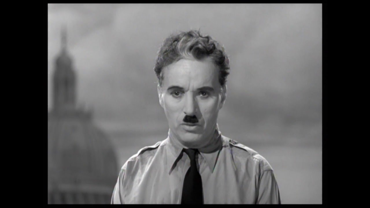 Charlie Chaplin - Final Speech from The Great Dictator ...
