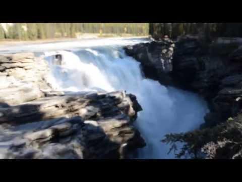 Athabasca Falls, Jasper National Park (Alberta, Canada)