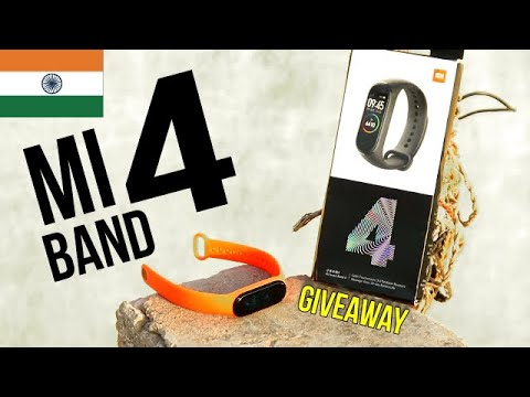 | GIVEAWAY | Mi Band 4 Unboxing, Heart Rate with Detailed Feature Analysis