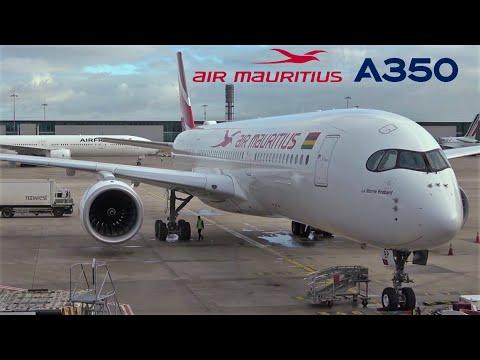 Air Mauritius Airbus A350 🇫🇷 Paris CDG - Mauritius MRU 🇲🇺 Port Louis [FULL FLIGHT REPORT]