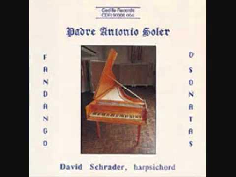 Fandango (Antonio Soler) - David Schrader