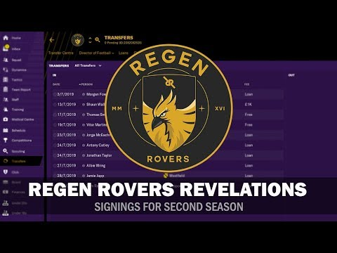 Regen Rovers Revelations #4 - 2nd Season Signings, Training & Tactics | Football Manager 2019