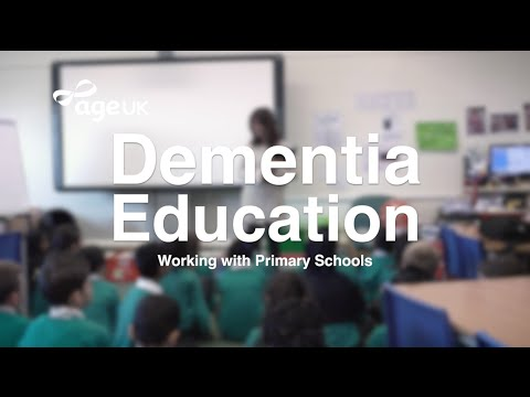 Dementia Education Working With Primary Schools