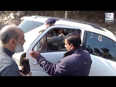Viral News : Jammu & Kashmir DSP Removed Tint From Vice Chancellors Car | Lehren News