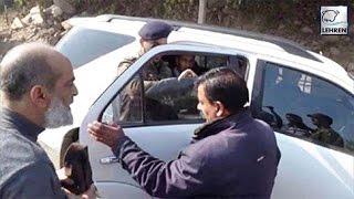 Viral News : Jammu & Kashmir DSP Removed Tint From Vice Chancellors Car   Lehren News