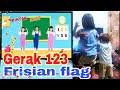 Gerak 123 Frisian Flag || Balita lucu ikuti gerakan 123 Frisian flag