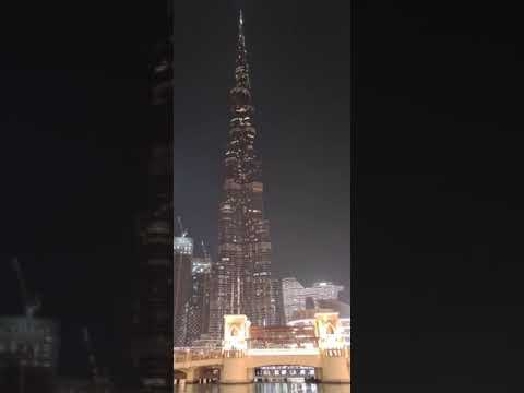 14 Aug 2021#Dubai Burj Khalifa// Lights Up To Show The Pakistani Flag At 75th Independence Day🇵🇰🇵🇰🇵🇰